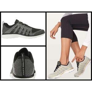 💕APL💕 Techloom PRO Sneakers Metallic Black/White